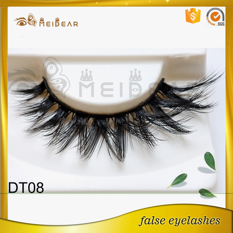 Manufacturer supply most soft and natural faux mink eyelash with OEM ODM service