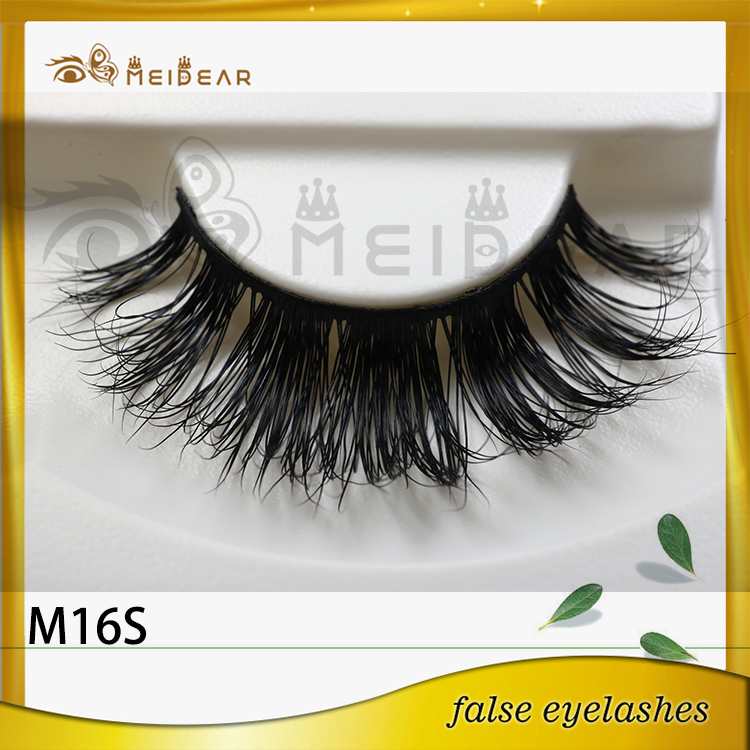Factory wholesale price private label logo mink eyelashes