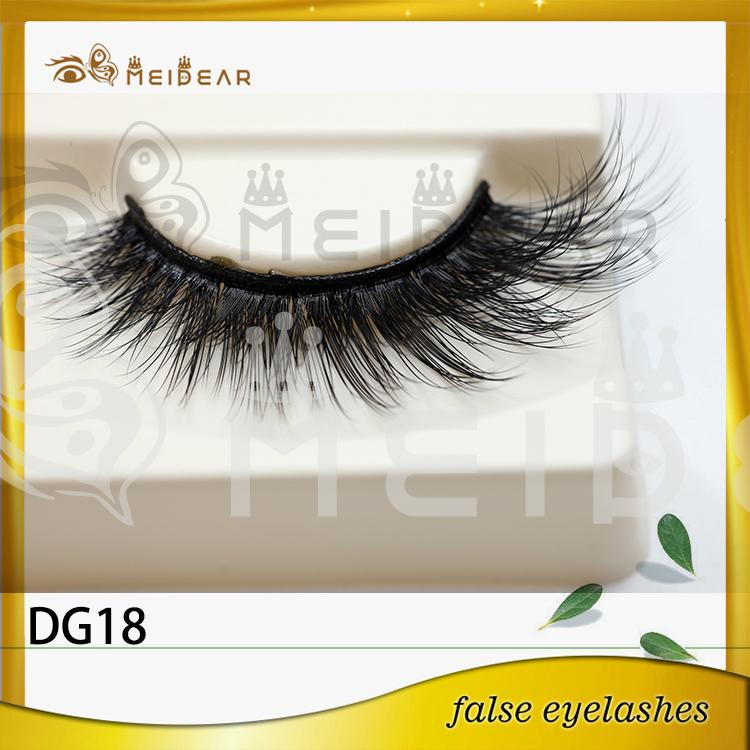 Hot selling private label 3D faux mink eyelashes with custom boxes