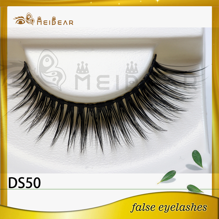 Factory supply low price private label 3d silk eyelashes