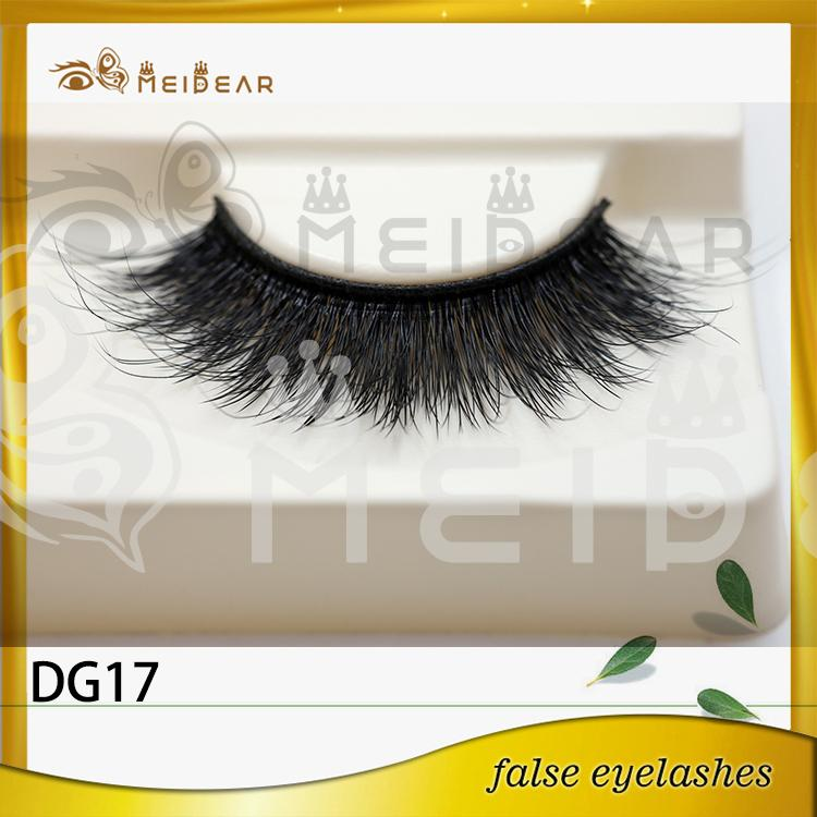 Wholesal custom package 3d faux mink lashes with private label