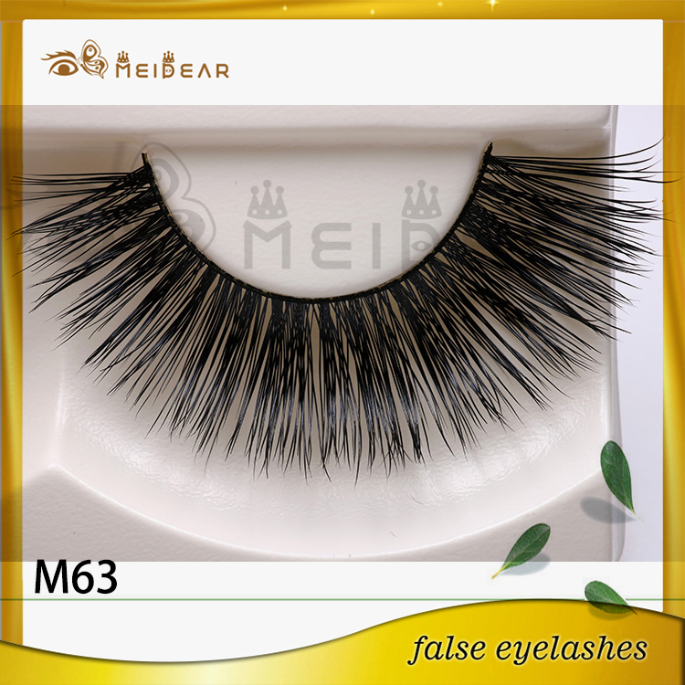Siberian mink lashes with custom package