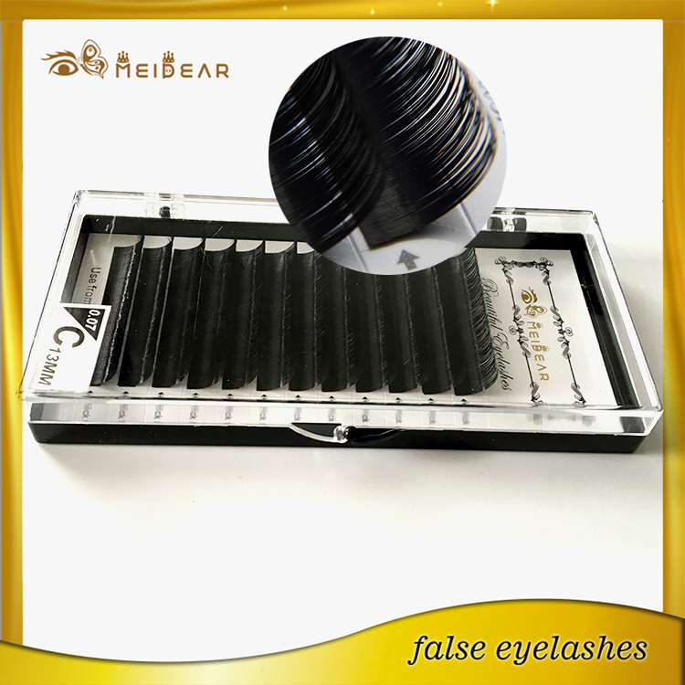 Great price custom logo korean mink eyelashes extension