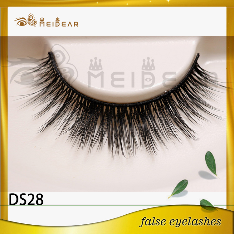 Custom eyelash packaging 3d silk eye lashes with logo design