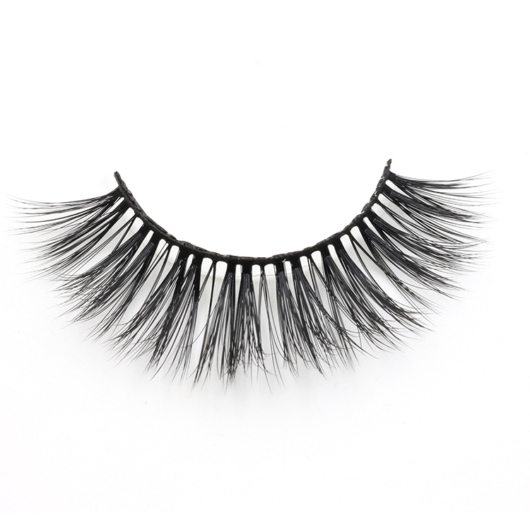 Private label 3d faux mink lashes with wholesale price packages custom
