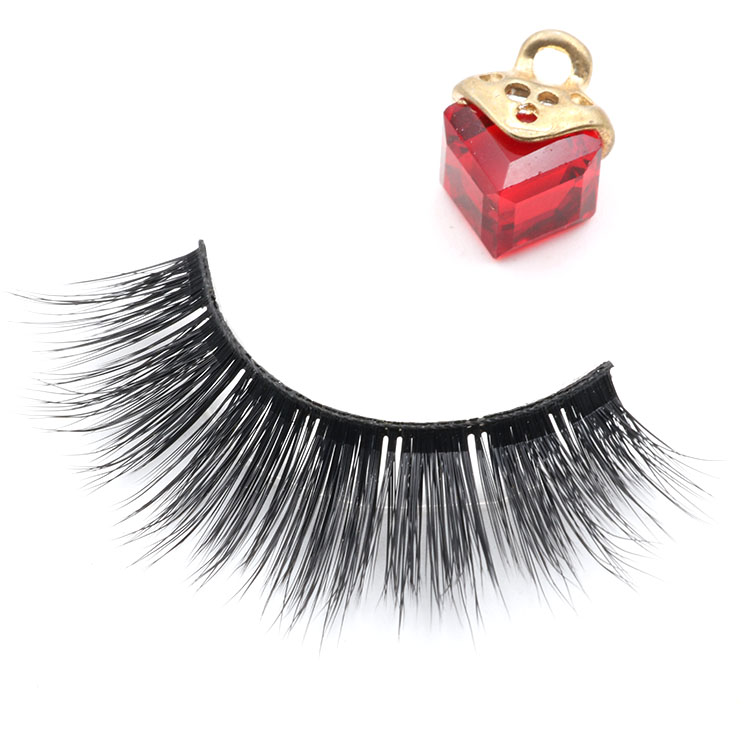 Manufacturer wholesale own brand strip false eyelash with private label packaging box