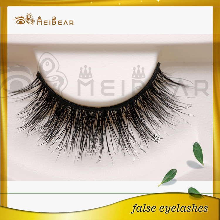 7844f520574 OEM custom packaing handcarfted dramatic 3d mink strip eyelashes ...