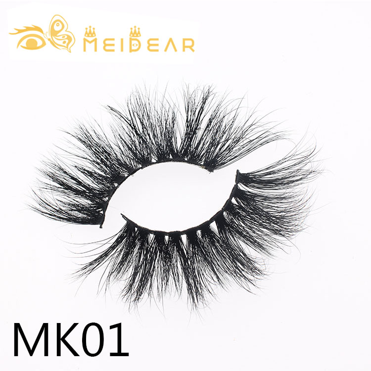 3D 5D 25mm mink lashes vendor with custom eyelash packaging  box usa