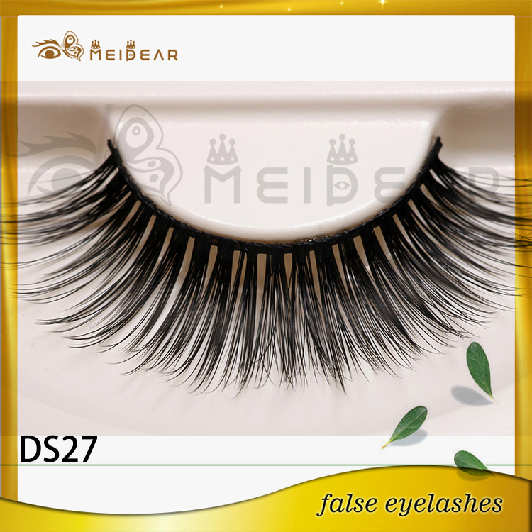 3D silk  eyelashes with custom package  logo design