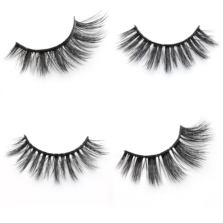 fcb48b7375c Lashes distributor supply own brand 3D faux mink false eyelashes with  private label box