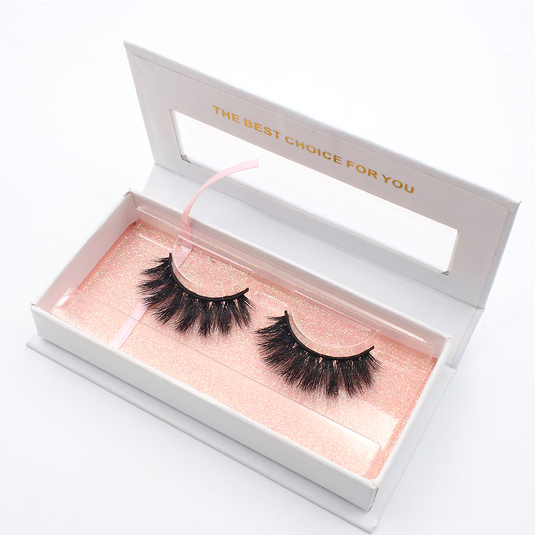 Best selling 2018 custom eyelash box for own brand 3D faux mink lashes