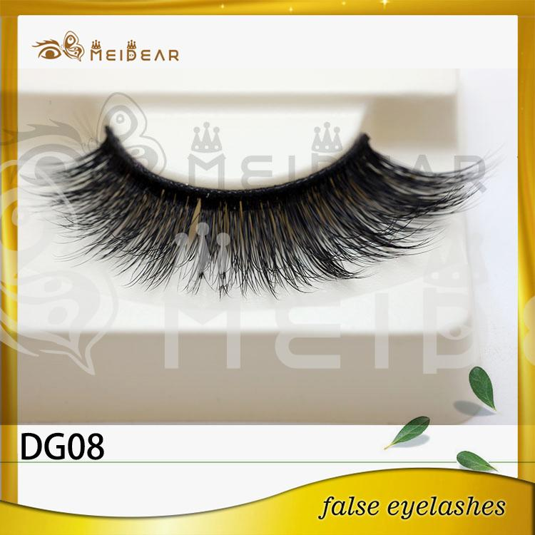 Private label 3D faux mink eyelashes manufacturer indonesia
