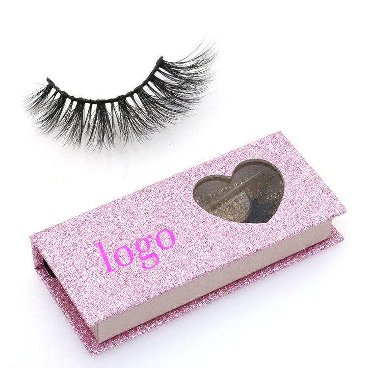 7f5af224c68 Eyelashes suppliers provide private label 3D faux mink lashes with custom  packaging box