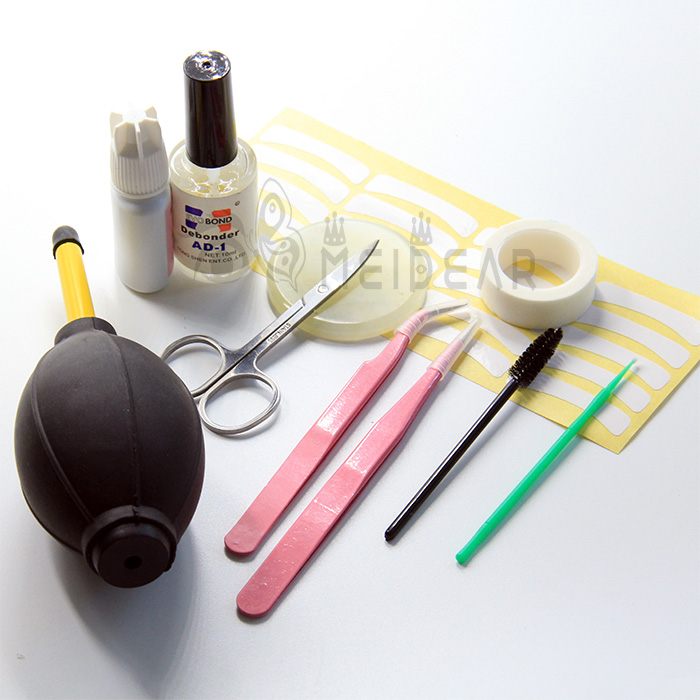 Eyelash extension tools kit