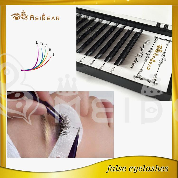 Korea PBT silk eyelash extension,China whoelsale Korea PBT silk