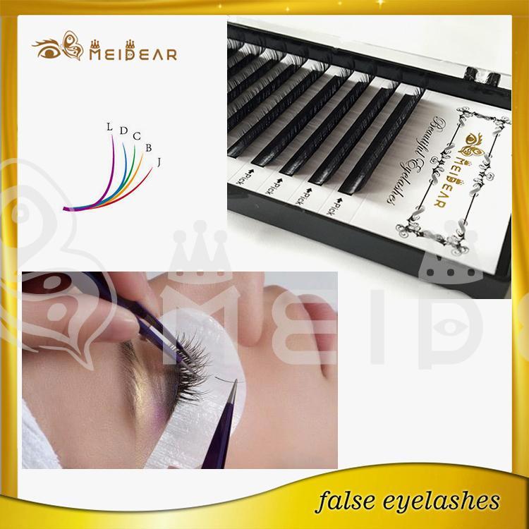 Korea PBT silk eyelash extension,China whoelsale Korea PBT