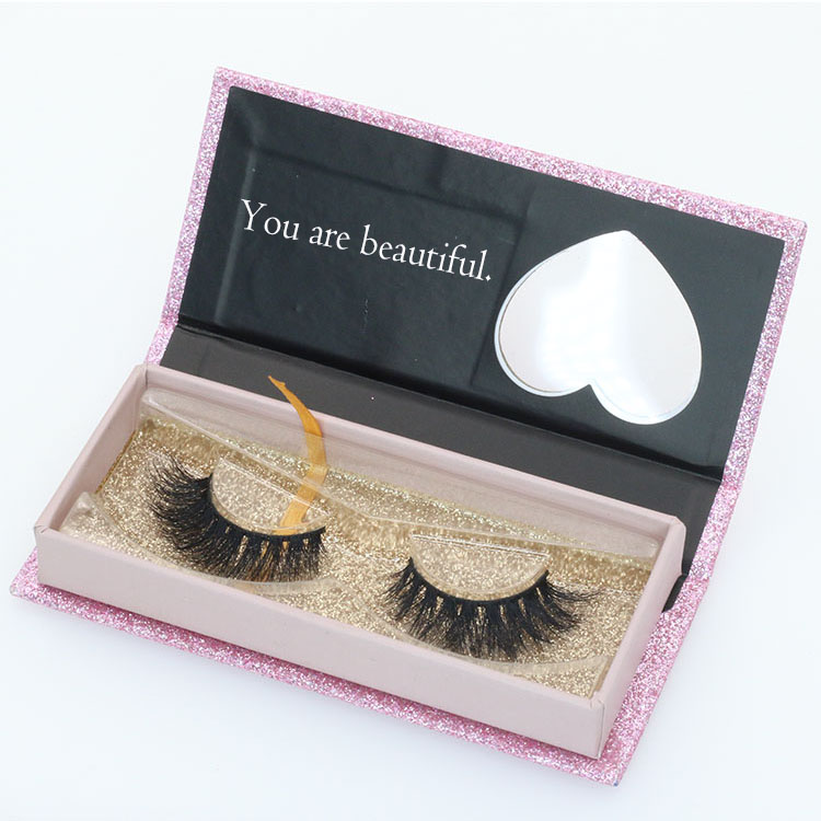 OEM ODM eyelash packaging box with private label logo design
