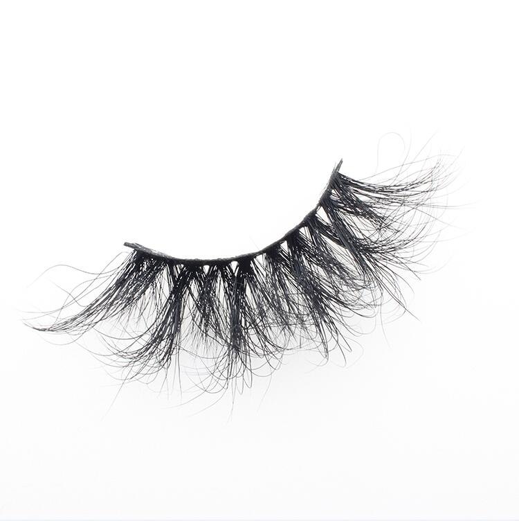 Eyelash vendors supply private label 25mm 3D mink lashes with packaging