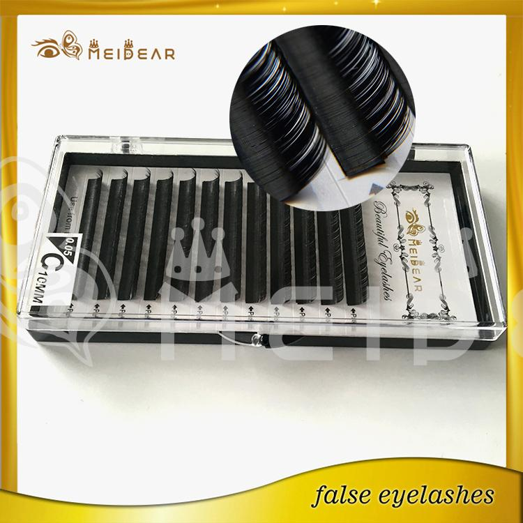 False eyelashes extensions silk material with custom package