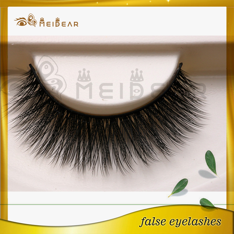 False eyelashes silk material with custom package