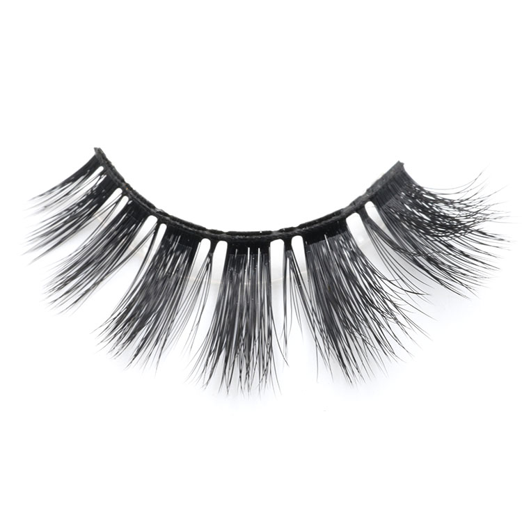 Lashes manufacturer provide luxury 3D faux mink eyelash with custom lashes packaging