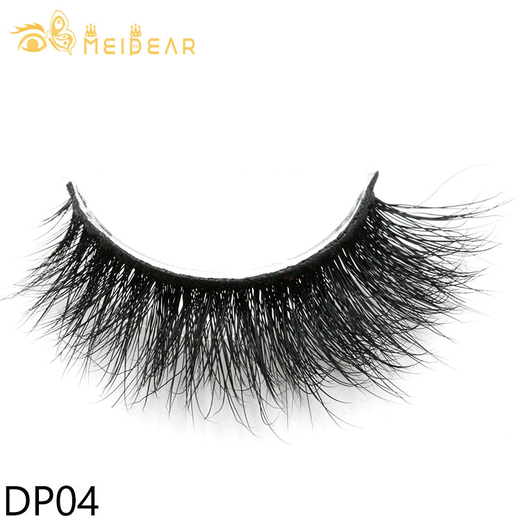 Eyelash suppliers China wholesale private label strip 3D faux mink lashes to USA
