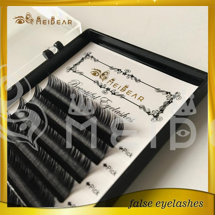 Factory wholesale private label eyelashes extension professional