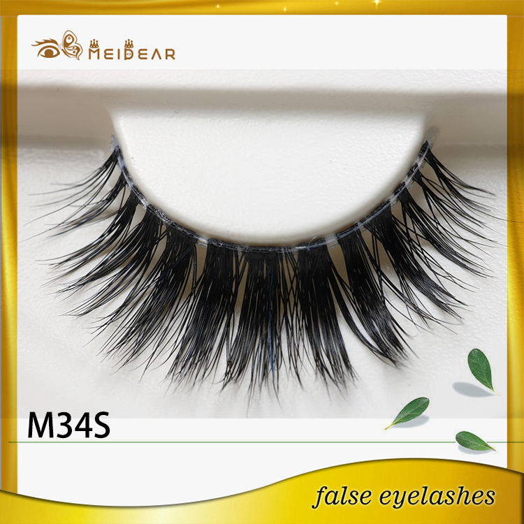 Siberian mink lashes with package design