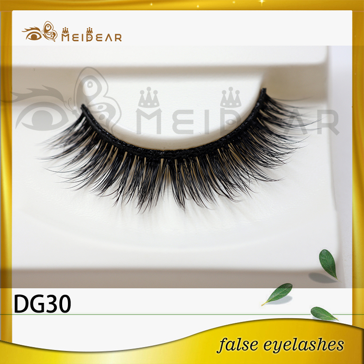 Factory supply mink eyelashes 3d faux mink with custom package