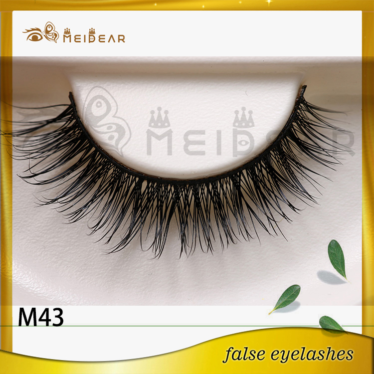 Distributor supply mink eyelash box packaging