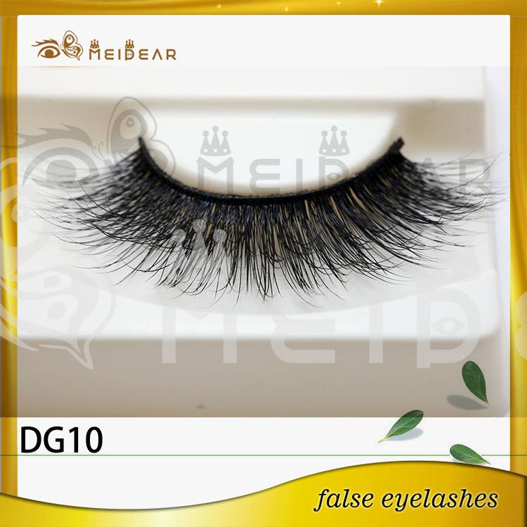 Private label hand made 3D faux mink eyelash USA
