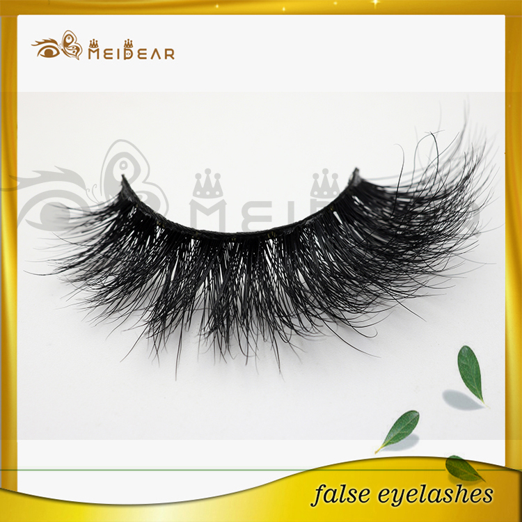 Hot sale volume 3d mink lashes private labeling