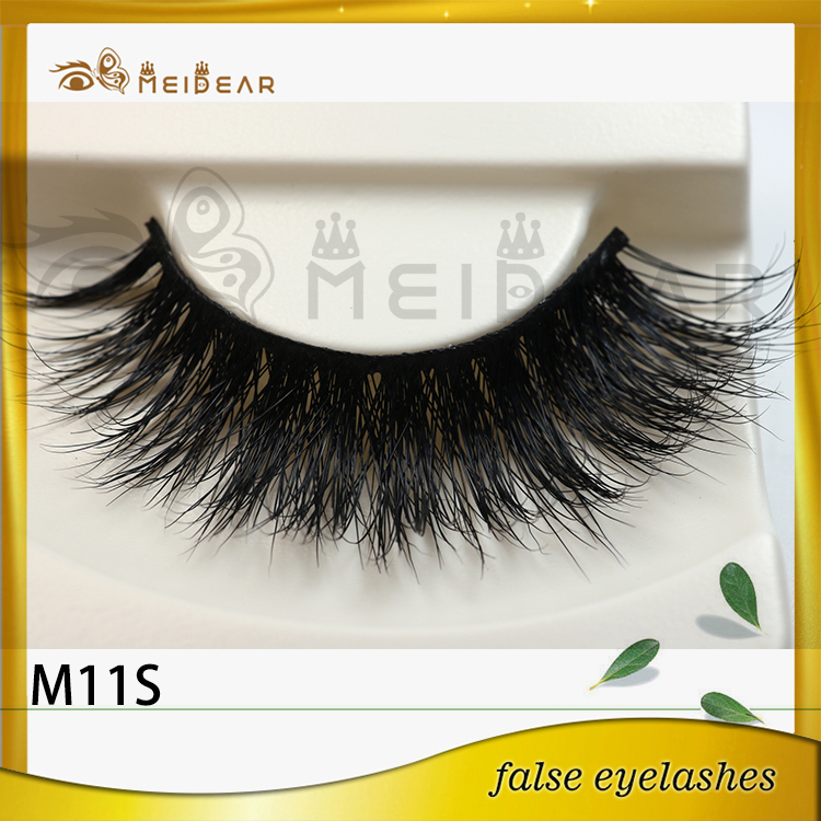 Top Quality Private Label Siberian Real Mink Fur Eye Lashes