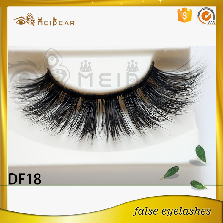 High quality handmade mink lash 3d mink lash in custom box