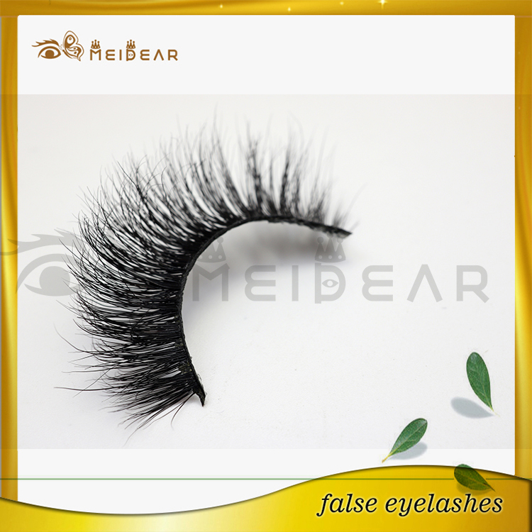 Factory design private labeling beauty mink lashes 3d lashes