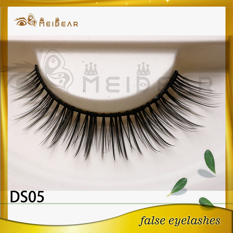 High Quality Private Label Natural Looking 3D Silk Fur Eye Lashes