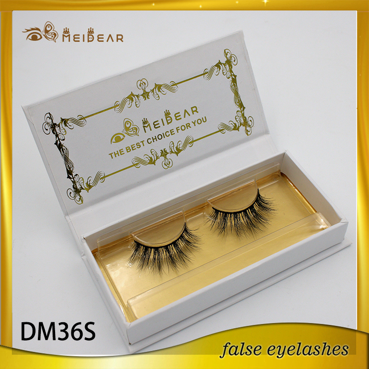 New design high quality custom packaging mink fur lashes