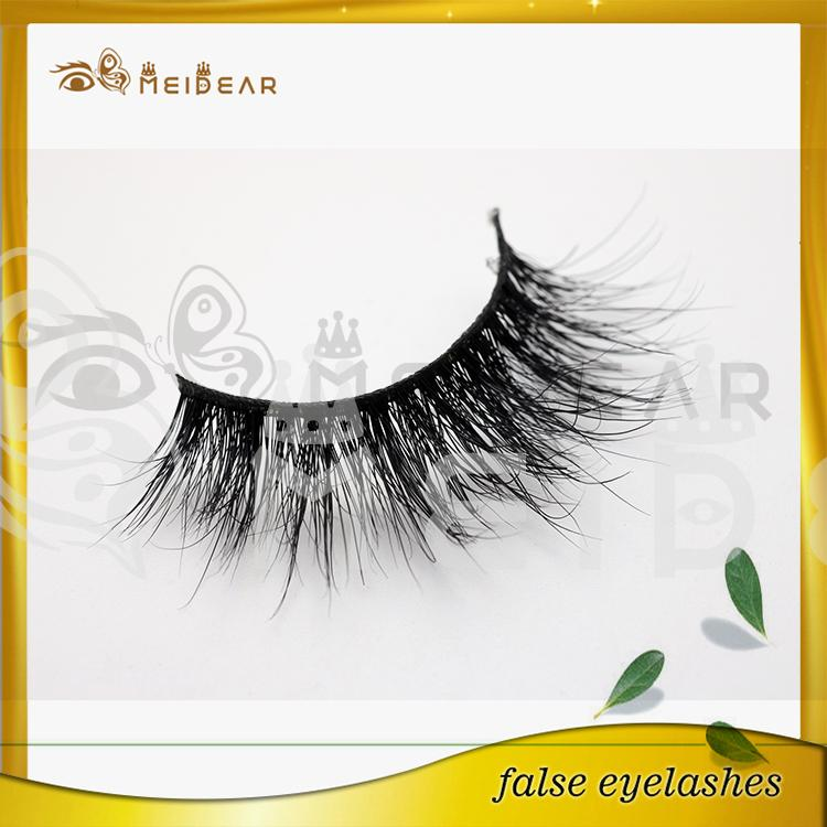 Factory supply private label wholesale mink eyelash