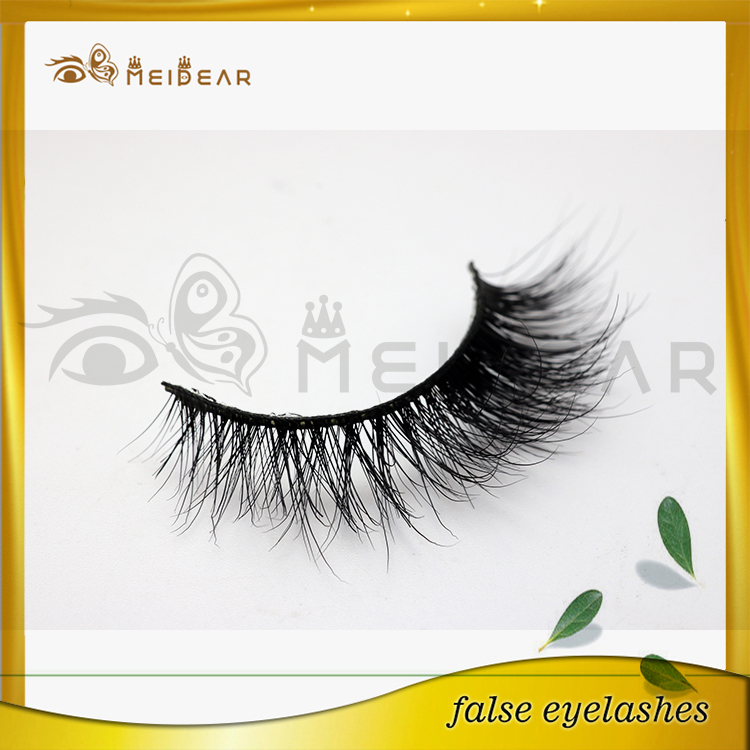 Distributor supply private package lovely 3d real mink lashes