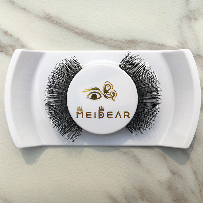 High quality human hair eyelash