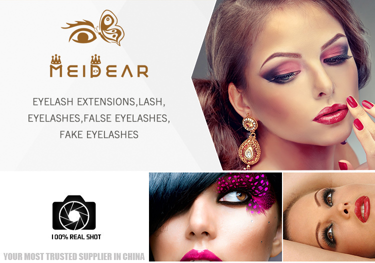 Get The Best Eyelash Extensions From Meidear Manufacturer Our Synthetic Can Make Longer Thicker And Fuller Eyelashes For