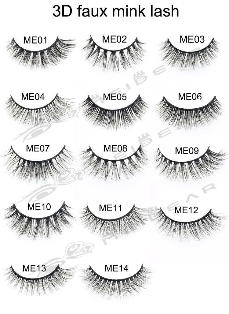 3e985ca863a You will have a soft feel and natural looking.They are super soft and  lightweight.Flase eyelashes for suitable for any causal,party and daily  life.