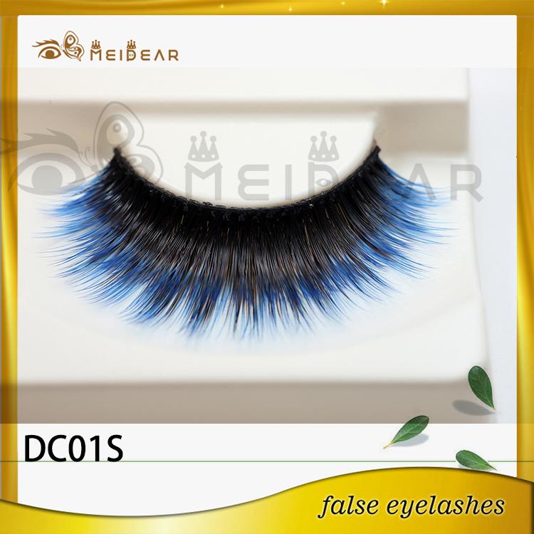 False eyelash factory supply real natural looking faux ...