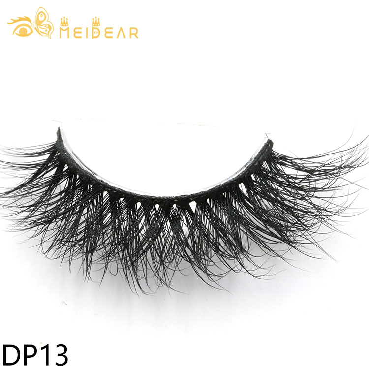 fa79981cb56 Private label 3D mink false eyelashes with own brand packaging box ...