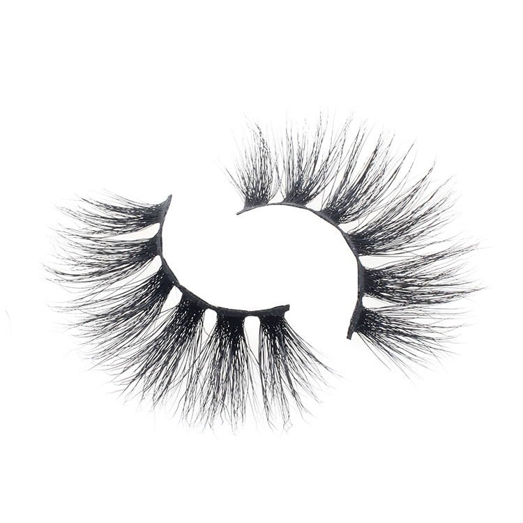 Lashes vendor supply siberian real mink fur 25mm 3D mink eyelash to USA