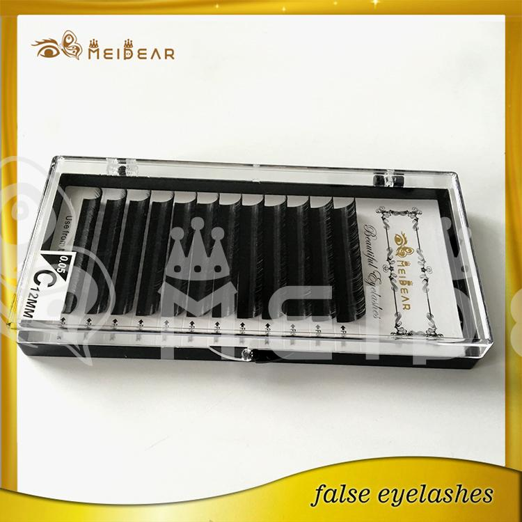 Wholesale eyelash extensions prices high quality custom packages