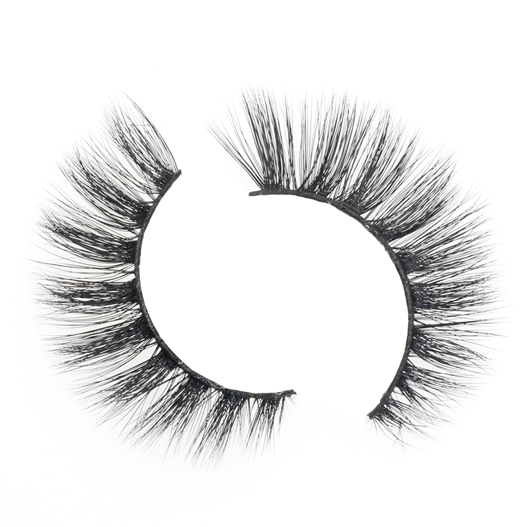 Strip false eyelash manufacturer wholesale cheap price 3D faux mink lashes