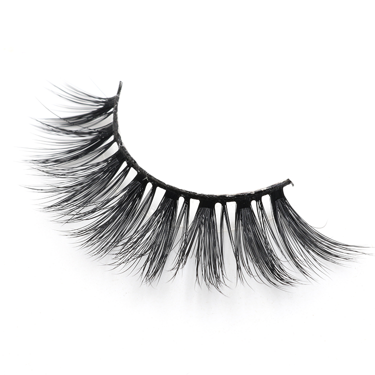 Lashes wholesaler provide glamorous 3d faux mink eyelashes with private label box