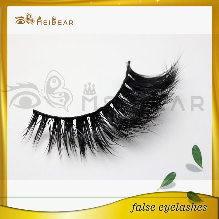 Distributor handmade vegan 3d mink eyelashes like mink design