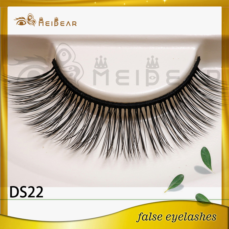 Factory supply private label wholesale 3d silk eyelash